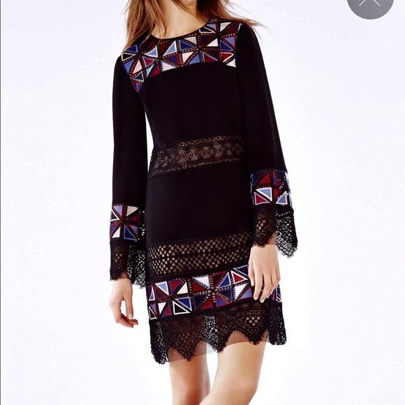 BCBGMaxAzria Dresses & Skirts - BCBG MAXAzria Runway Laia Embroidered Dress